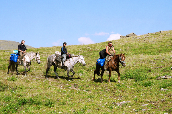 Фотогалерея: На лошадях к Белухе. Лето 2018