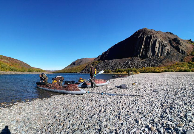 Фотогалерея: Рыбалка на озере Эльгыгытгын и сплав по реке Энмынваам .
