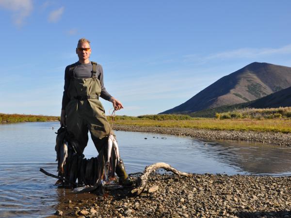 Фотогалерея: Рыбалка на озере Майниц. Рыболовная экспедиция на Чукотке.