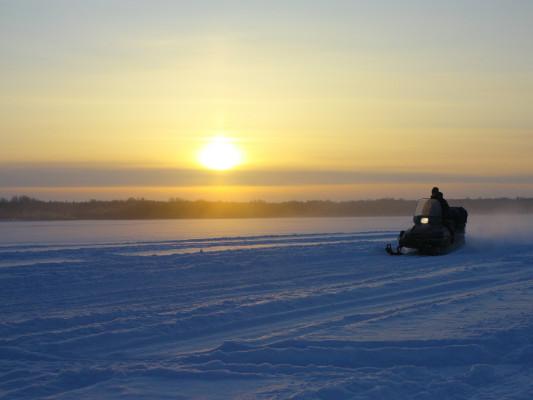 Фотогалерея: Кижские узоры (снегоходное сафари) 2019г.