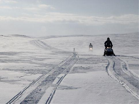 Фотогалерея: Сердце Кольского.Сафари на снегоходах. 2019