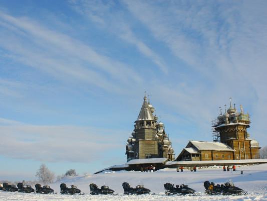 Фотогалерея: Зимние Кижи 2 дня (снегоходное сафари). 2019г.