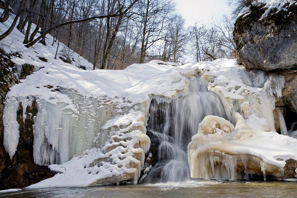 Фотогалерея: Геотермальные источники в Адыгее - 7. Осень-зима-весна 2020-2021