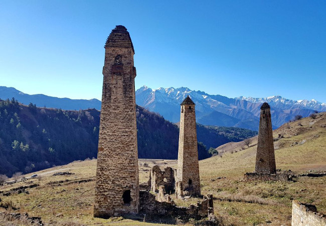 Фотогалерея: Величие Ингушских гор. 2021г.