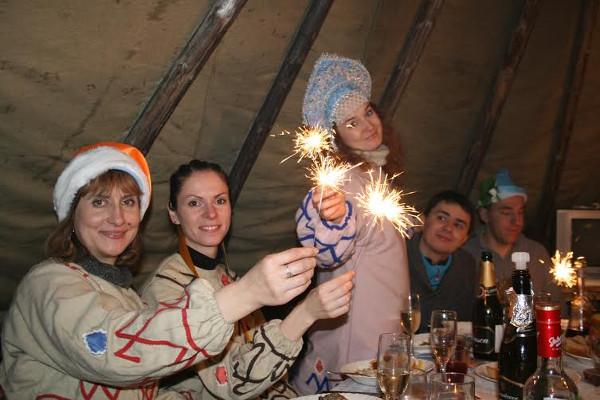 Фотогалерея: Новый год в Краснощелье 2018