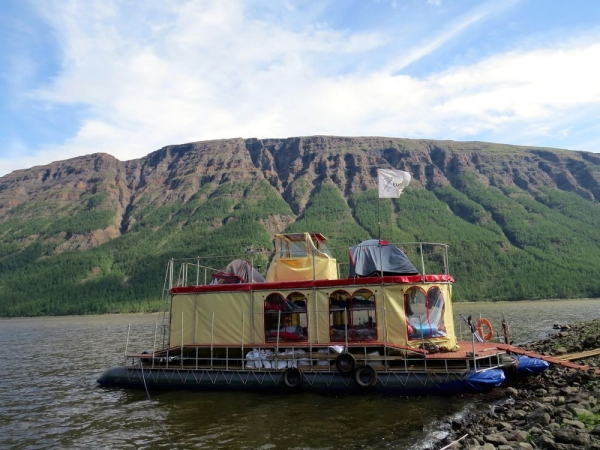 Фотогалерея: В затерянный мир озер и водопадов плато Путорана. 2019г.