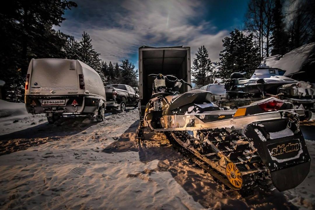Фотогалерея: Экспедиция на снегоходах к Северному Ледовитому Океану 2017