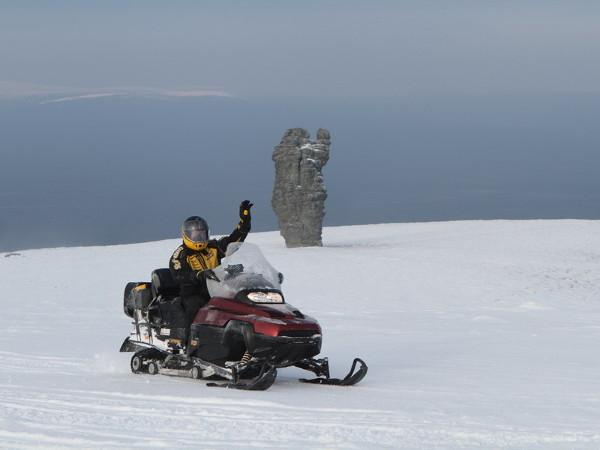 Фотогалерея: Снегоходная экспедиция на плато Маньпупунер. 2019г.
