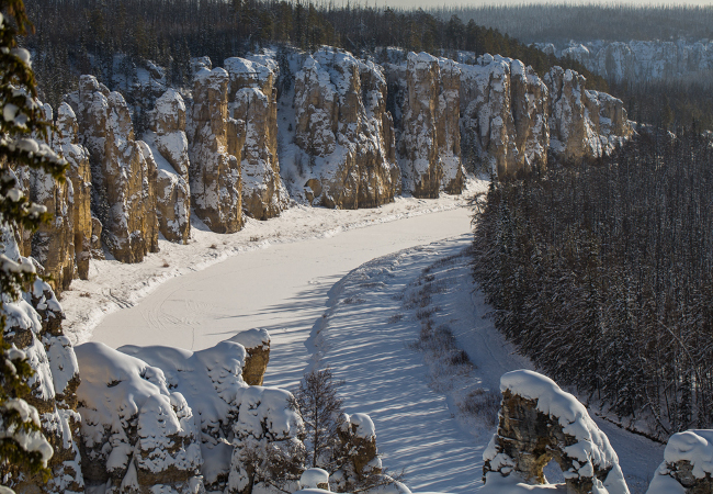 Фотогалерея: Зимняя мозаика в Якутии. 2021г.